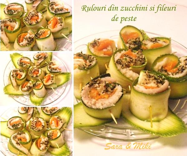 Rulouri din peste si zucchini 0