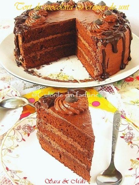 Tort-de-ciocolata-cu-crema-de-unt1