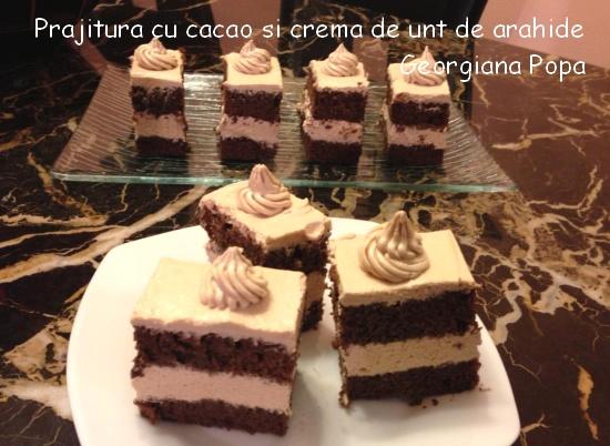Prajitura cu cacao si crema de unt de arahide_Georgiana Popa