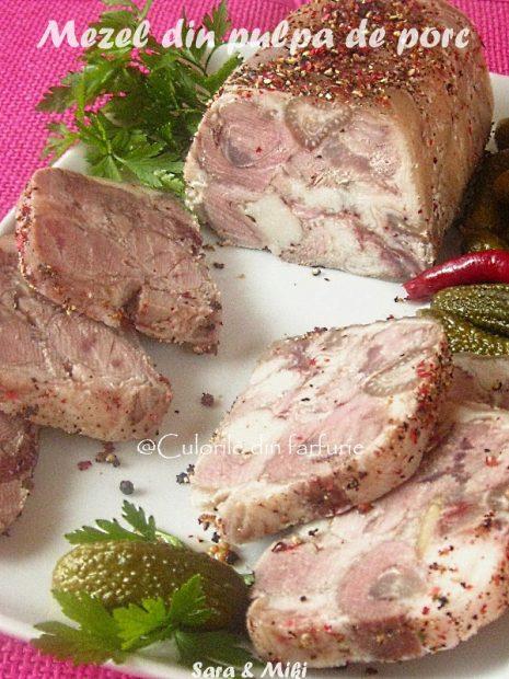 Mezel din pulpa de porc-1