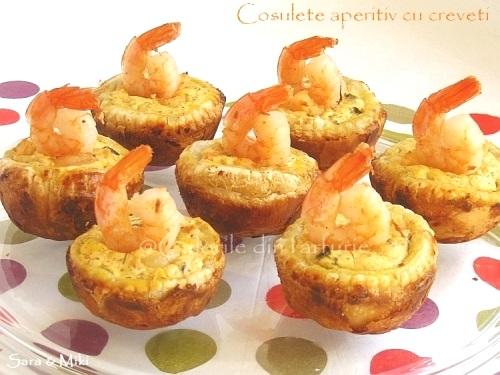 Cosulete aperitiv cu creveti 3-1